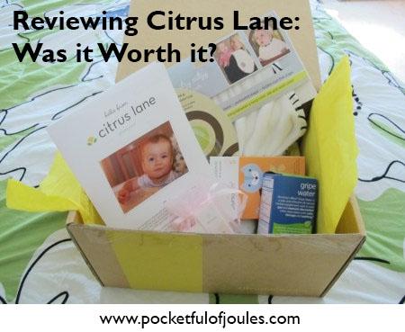 reviewing citrus lane
