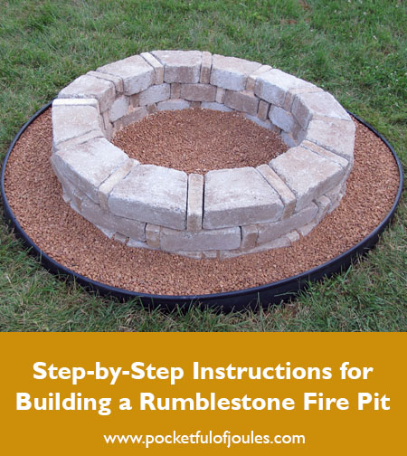rumblestone fire pit instructions