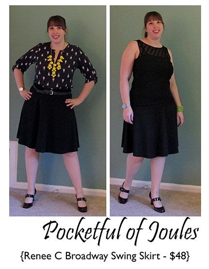 Renee C Broadway Swing Skirt - Joules