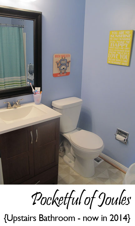 Upstairs bathroom - 2014