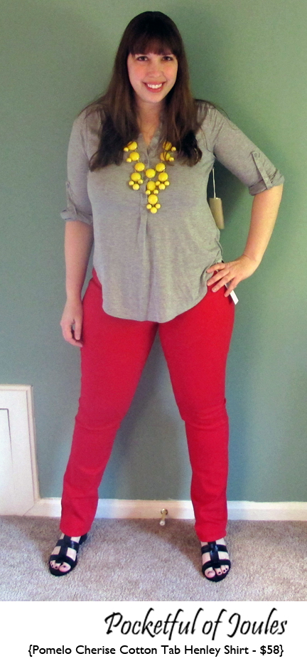 Joules - Cherise Cotton Henley Shirt
