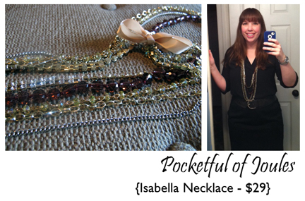 Wantable Isabella necklace - Joules