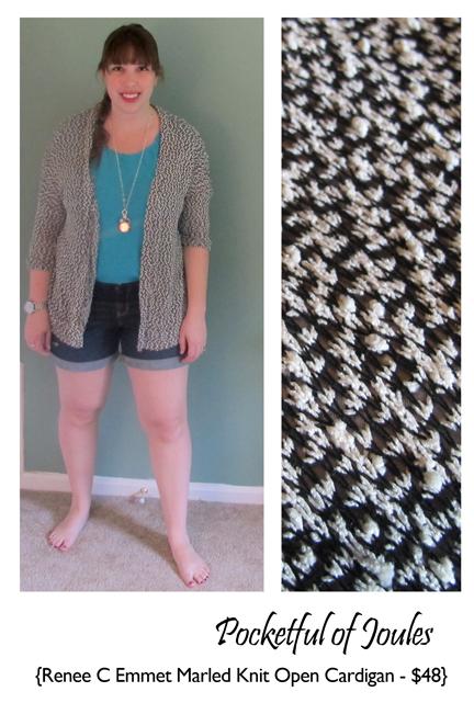 Renee C Emmet Marled Knit Cardigan - Joules