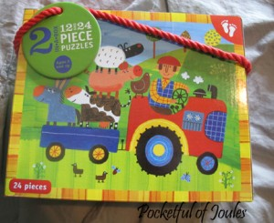 barefoot books puzzles - Pocketful of Joules