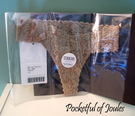 best lace thong ever - true and co - Joules