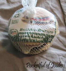 build a burger - Pocketful of Joules