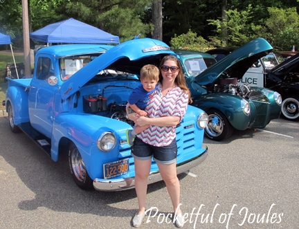 car show - me and jack
