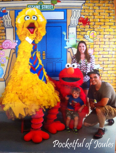 pic with Elmo