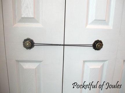 Door childproofing