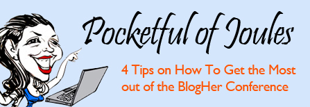 4 tips for BlogHer conference