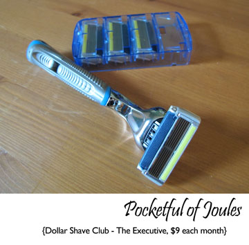Dollar shave club - Executive razor - Pocketful of Joules