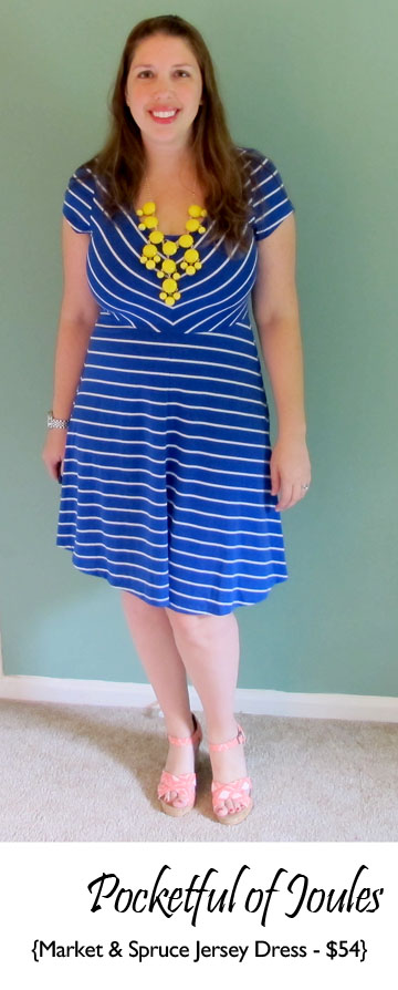 Market and Spruce Spensur jersey dress - Pocketful of Joules