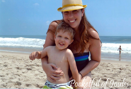 Jack and mommy in OC - August 2014
