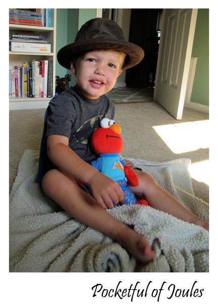Jack modeling Ashbury Hats - Pocketful of Joules