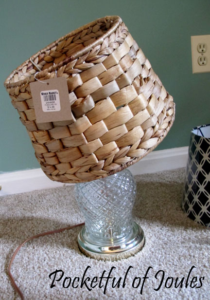 Crooked lampshade