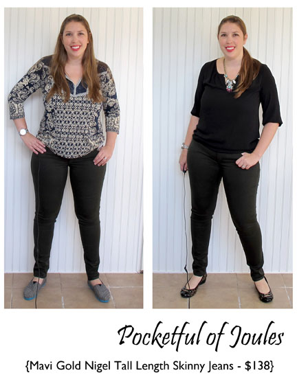 Mavi Gold Nigel Tall Skinny Jeans - Stitch Fix Review