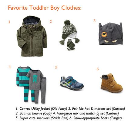 favorite toddler boy clothes