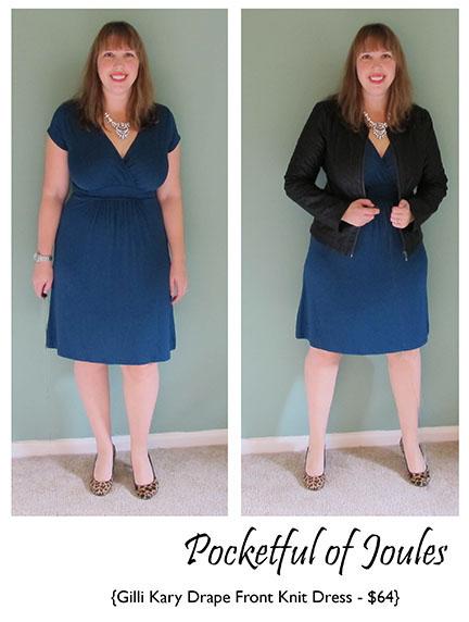 Gilli Kary Drape Front Knit Dress - Stitch Fix