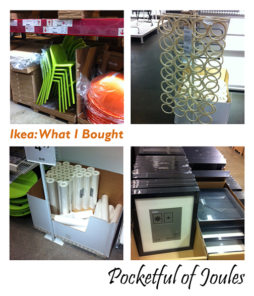 Ikea - what I bought