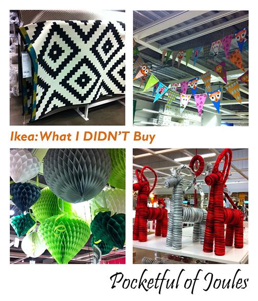 Ikea - what I didn't buy