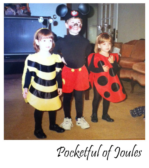 bee lady bug mickey mouse
