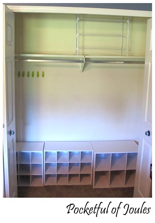 closet - empty
