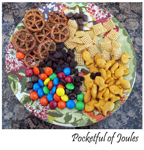 Pocketful of Joules - make your own snack mix