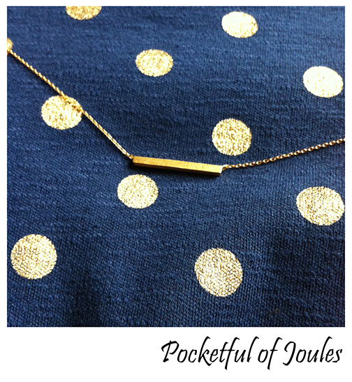 The Gypsy Wagon necklace - Pocketful of Joules