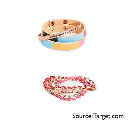 Toms for Target bracelets