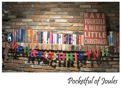 Christmas Decor - mantel
