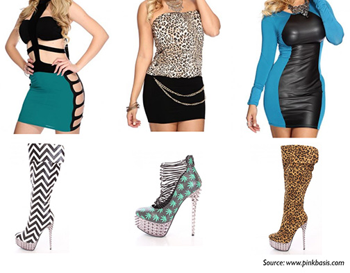 Sassy clothes and boots collage