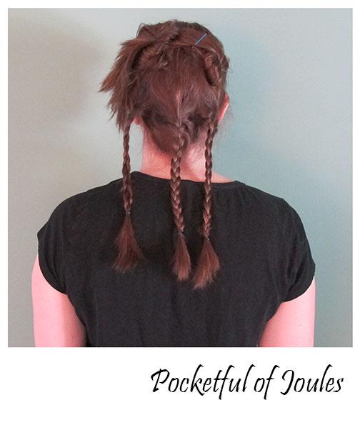 Pinterest hair - step 1
