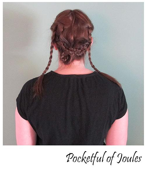 Pinterest hair - step 2