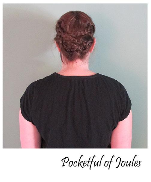 Pinterest hair - step 3