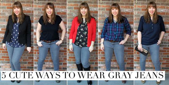 5-Cute-Ways-to-Wear-Gray-Jeans