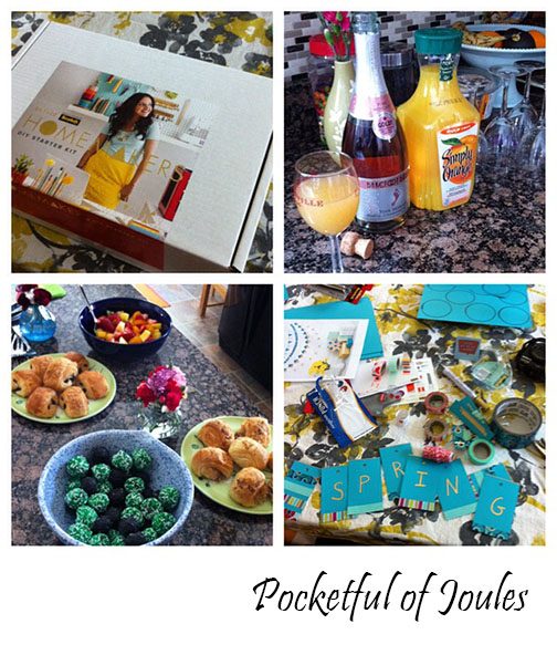 Brit party collage