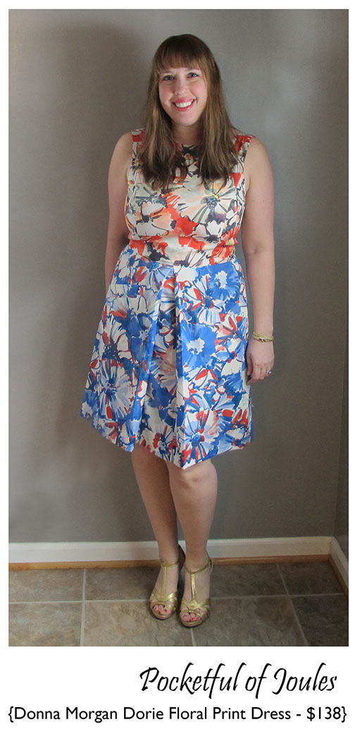 Donna Morgan Dorie Floral Print Dress 1 - Joules