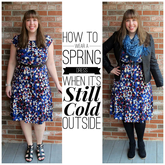 I Wrote A Special Post Over On Blogher 4 Steps To Wearing Spring Dress When It S Still Chilly And D Love If You Would Click Check Out