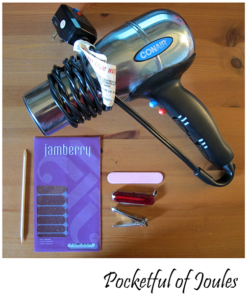 Reviewing Jamberry - supplies
