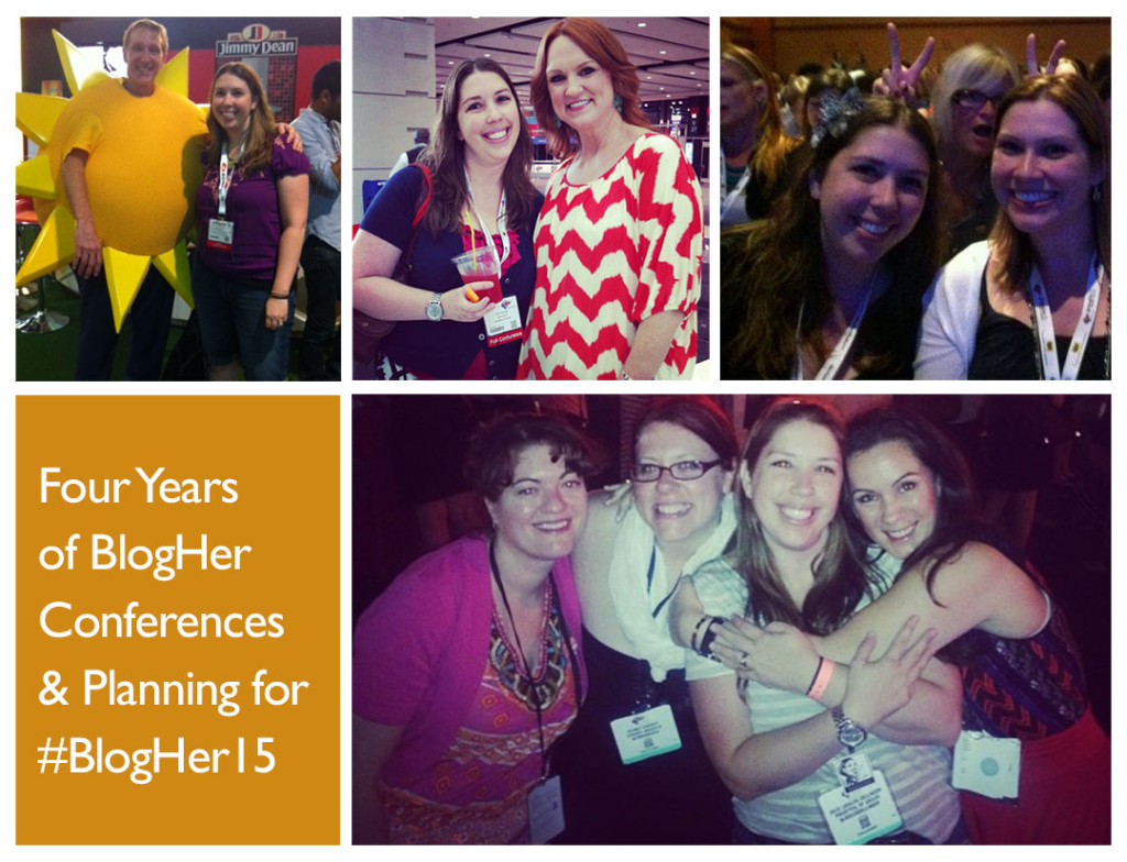 4 years of BlogHer conferences image - Joules