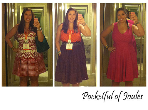 BlogHer15 - what I wore 2