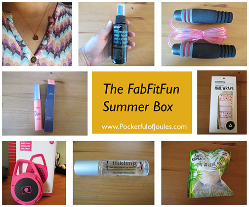 FabFitFun Summer 2015 - Pocketful of Joules