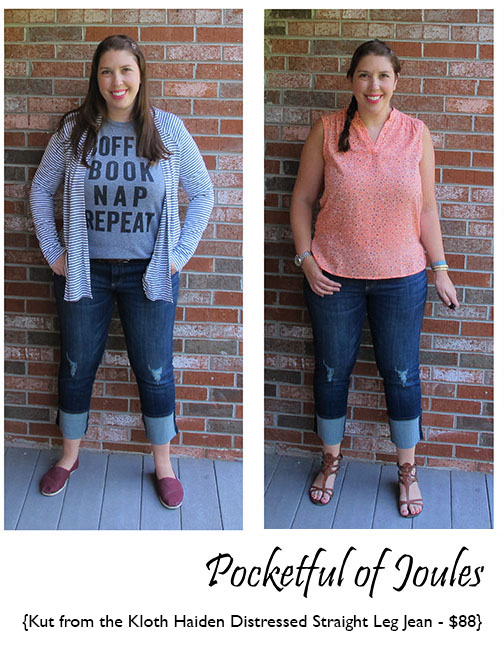 Stitch Fix Kut from the Kloth Haiden Distressed Skinny Jean - Pocketful of Joules
