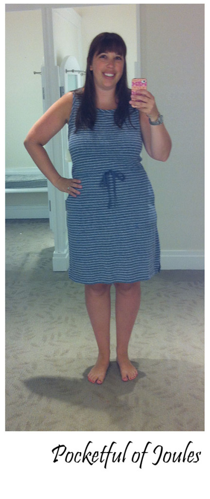 Trying on Talbots - outfit 2