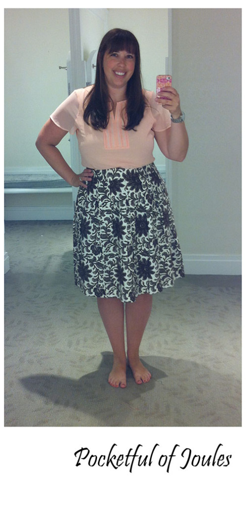 Trying on Talbots - outfit 3