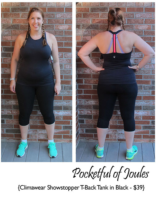 Wantable Fitness Edit August - Climawear Tank Black - Pocketful of Joules