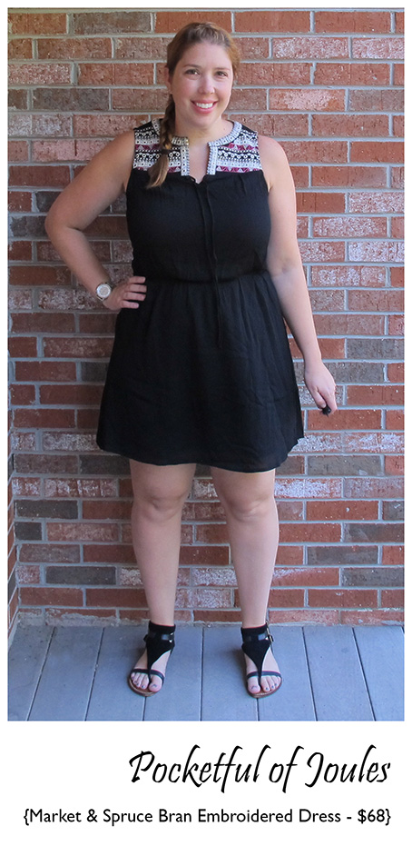 Stitch Fix Review - Market and Spruce Bran Embroidered Dress - Pocketful of Joules