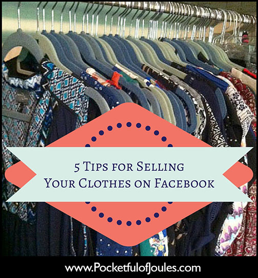 5 Tips for Selling Your Clothes on Facebook
