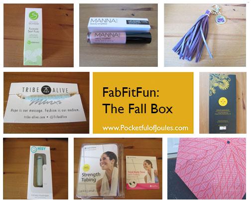 FabFitFun Fall box - Pocketful of Joules
