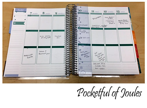 Day planner 2 - Pocketful of Joules